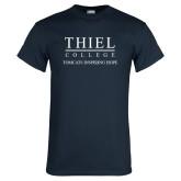 Navy T Shirt-Tomcats Inspiring Hope