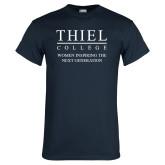 Navy T Shirt-Women Inspiring The Next Generation