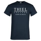 Navy T Shirt-Alpha Xi Delta