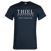 Navy T Shirt-Delta Sigma Phi