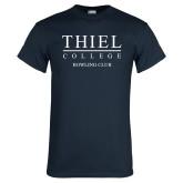 Navy T Shirt-Bowling Club