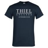 Navy T Shirt-Outdoors Club