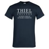 Navy T Shirt-Student Athlete Advisory Committee