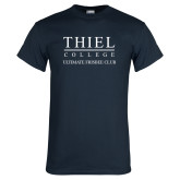 Navy T Shirt-Ultimate Frisbee Club