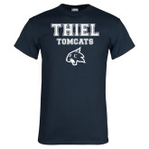 Navy T Shirt-Thiel Tomcats