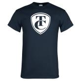 Navy T Shirt-TC Shield
