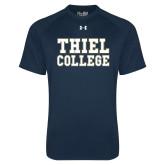 Under Armour Navy Tech Tee-Thiel College