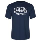 Performance Navy Tee-Football