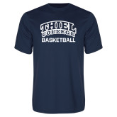 Performance Navy Tee-Basketball