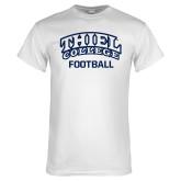 White T Shirt-Football