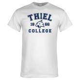 White T Shirt-Thiel College