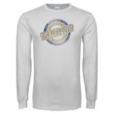 White Long Sleeve T Shirt-Tomcat Target