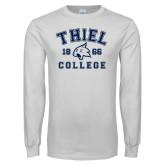 White Long Sleeve T Shirt-Thiel College