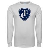 White Long Sleeve T Shirt-TC Shield
