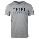 Adidas Sport Grey Logo T Shirt-Thiel Logo