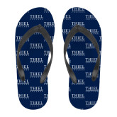 Full Color Flip Flops-Thiel Logo