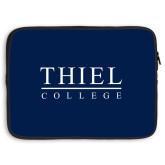 15 inch Neoprene Laptop Sleeve-Thiel Logo