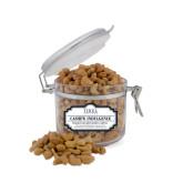 Cashew Indulgence Small Round Canister-Thiel Logo