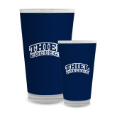 Full Color Glass 17oz-Athletic Logo