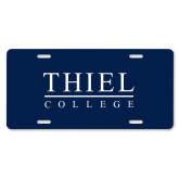 License Plate-Thiel Logo