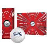 Callaway Chrome Soft Golf Balls 12/pkg-Athletic Logo