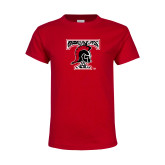 Youth Red T Shirt-Pattern Design