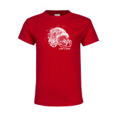 Youth Red T Shirt-Leave a Legacy