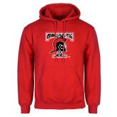 Red Fleece Hoodie-Pattern Design