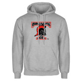 Grey Fleece Hoodie-Pattern Design