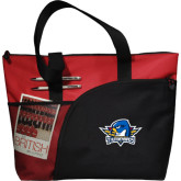 Excel Red Sport Utility Tote-Primary Mark