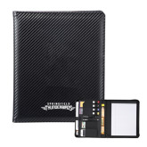 Carbon Fiber Tech Padfolio-Word Mark