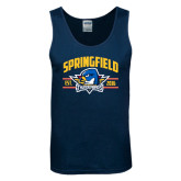 Navy Tank Top-Arched Established Date