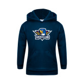 Youth Navy Fleece Hoodie-Kids Club