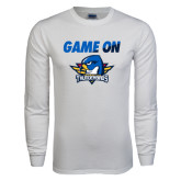 White Long Sleeve T Shirt-Game On
