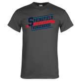 Charcoal T Shirt-Hockey Banner
