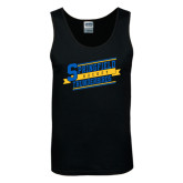 Black Tank Top-Hockey Banner