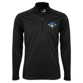 Syntrel Black Interlock 1/4 Zip-Thunderbird Head