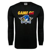 Black Long Sleeve TShirt-Game On