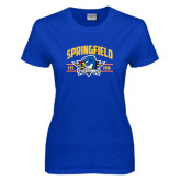 Ladies Royal T Shirt-Arched Established Date