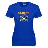 Ladies Royal T Shirt-Game On