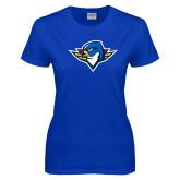 Ladies Royal T Shirt-Thunderbird Head