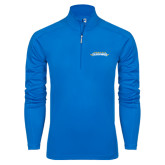 Syntrel Royal Blue Interlock 1/4 Zip-Word Mark