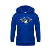 Youth Royal Fleece Hoodie-Thunderbird Head
