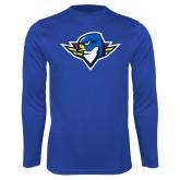 Performance Royal Longsleeve Shirt-Thunderbird Head