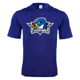 Performance Royal Heather Contender Tee-Primary Mark