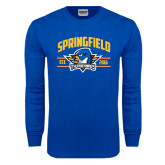 Royal Long Sleeve T Shirt-Arched Established Date