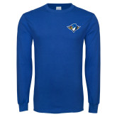 Royal Long Sleeve T Shirt-Thunderbird Head