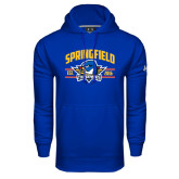 Under Armour Royal Performance Sweats Team Hoodie-Arched Established Date