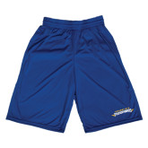 Russell Performance Royal 9 Inch Short w/Pockets-Word Mark