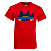 Red T Shirt-Cityscape